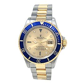 Rolex Submariner (N Serial) 18k Yellow Gold & Stainless Steel Automatic 16613