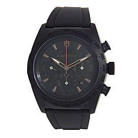 Tudor Fastrider Blackshield Black Ceramic Automatic Men's Watch 42000CN