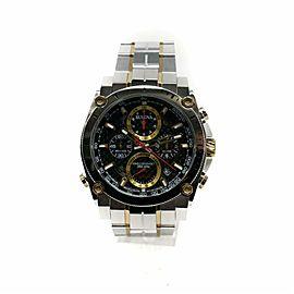 Bulova Precisionist 98B228 Steel Watch