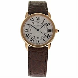 Cartier Ronde Solo W2RN0008 Gold 36.0mm Watch