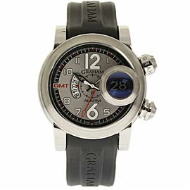 Graham Swordfish 2SWASGMT Steel 46.0mm Watch