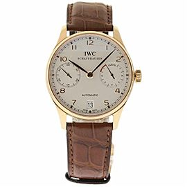 IWC Portuguese IW500113 Gold 42.0mm Watch