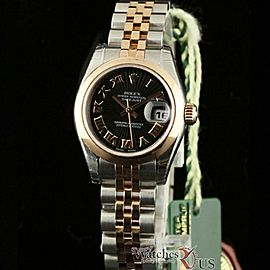 Rolex Datejust 179161 Steel 26.0mm Womens Watch