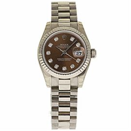 Rolex Datejust 179179 Gold 26.0mm Womens Watch