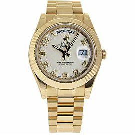 Rolex Day-date Ii 218238 Gold 41.0mm Watch