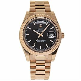 Rolex Day-date Ii 218235 Gold 41.0mm Watch