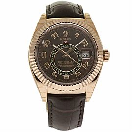 Rolex Sky-dweller 326135 Gold 42.0mm Watch