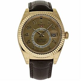 Rolex Sky-dweller 326138 Gold 42.0mm Watch