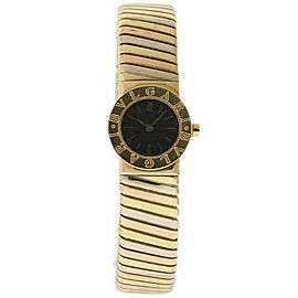 Bulgari Tubogas BB192T Gold 20.0mm Womens Watch