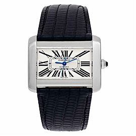 Cartier Tank Divan W6300755 Steel 24.0mm Watch