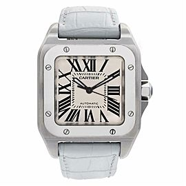 Cartier Santos 100 W20126X8 Steel 32.0mm Watch