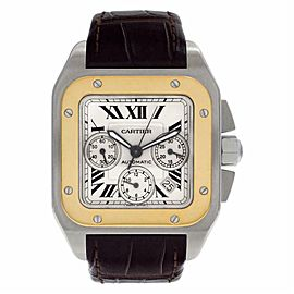 Cartier Santos 100 W20091X7 Steel 42.0mm Watch