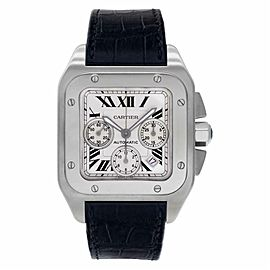 Cartier Santos 100 W20090X8 Steel 41.0mm Watch