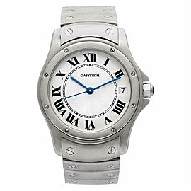 Cartier Cougar Steel 33.0mm Watch