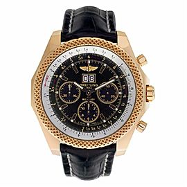 Breitling Bentley K44362 Gold 48.0mm Watch