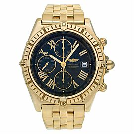 Breitling Crosswind K13055 Gold 41.5mm Watch