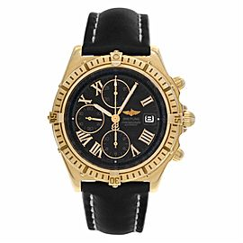 Breitling Crosswind K13055 Gold 44.0mm Watch