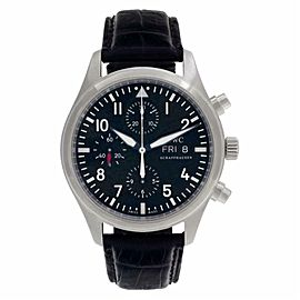 IWC Pilot IW377709 Steel 42.0mm Watch