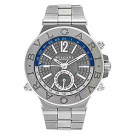 Bulgari Diagono DG40SGMT Steel 40.0mm Watch