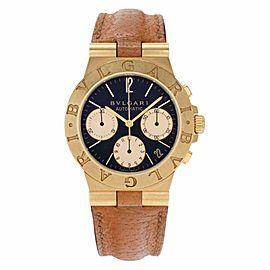 Bulgari Diagono CH35G Gold 35.0mm Watch