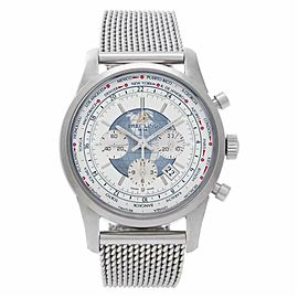 Breitling Transocean AB0510 Steel 46.0mm Watch