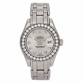 Rolex Masterpiece 69299 Gold 28.0mm Womens Watch