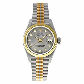 Rolex Datejust 69179 Gold 26.0mm Womens Watch