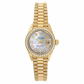 Rolex Datejust 69178 Gold 26.0mm Womens Watch