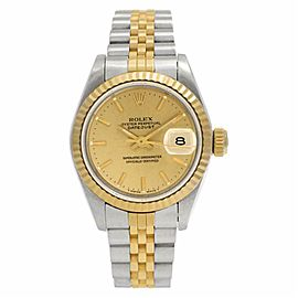 Rolex Datejust 69173 Gold 24.0mm Womens Watch