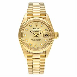 Rolex Datejust 6917 Gold 25.0mm Womens Watch