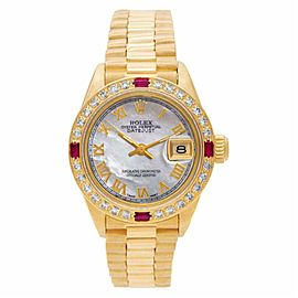 Rolex Datejust 6917 Gold 26.0mm Womens Watch