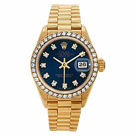 Rolex Datejust 69138 Gold 26.0mm Womens Watch