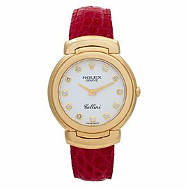 Rolex Cellini 6622 Gold 33.0mm Womens Watch