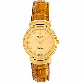 Rolex Cellini 6621 Gold 0.0mm Womens Watch