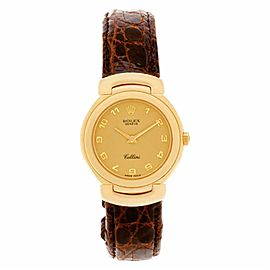 Rolex Cellini 6621 Gold 33.0mm Womens Watch