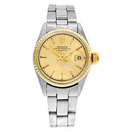 Rolex Date 6517 Steel 23.0mm Womens Watch