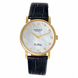 Rolex Cellini 5115 Gold 32.0mm Womens Watch