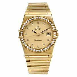 Omega Constellation 496.1080 Gold 32.0mm Watch
