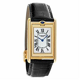 Cartier Tank Basculante 2499 Gold 32.5mm Watch