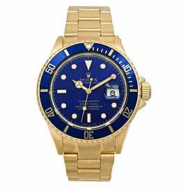 Rolex Submariner 16808 Gold 40.0mm Watch