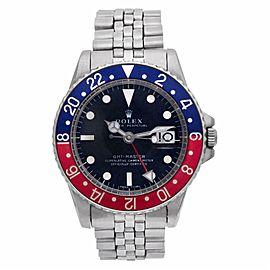Rolex Gmt Master Ii 1675 Steel 39.0mm Watch
