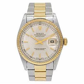 Rolex Datejust 16000 Gold 36.0mm Watch