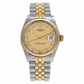 Rolex Date 1505 Steel 34.0mm Watch