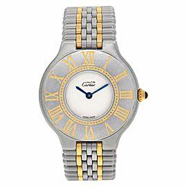 Cartier Must 21 1340 Steel 31.0mm Women Watch