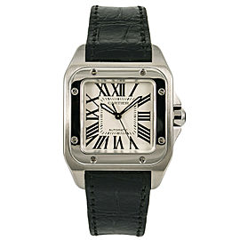 Cartier Santos 100 W20106X8 Steel 33mm Watch
