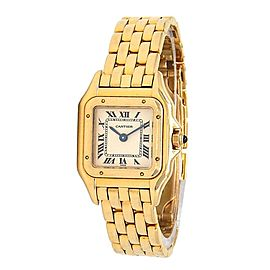 Cartier Panthere 18k Yellow Gold Swiss Quartz Ladies Watch 8057917