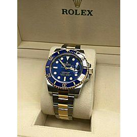 Rolex 116613 Blue Ceramic Submariner 18K Gold & Steel
