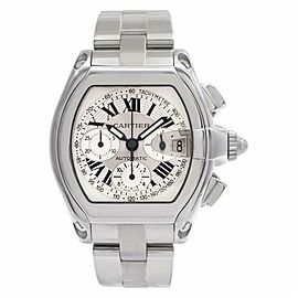 Cartier Roadster W62006X6 Steel 43.0mm Watch