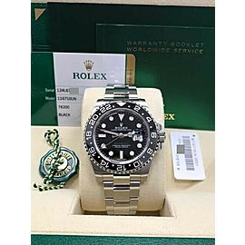 Rolex GMT Master II 116710 Black Ceramic Stainless