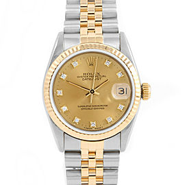 Rolex Datejust 68273 Steel 34mm Women Watch